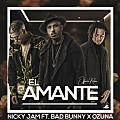 Nicky Jam Ft. Ozuna y Bad Bunny - El Amante Remix