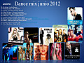 Dance mix junio 2012