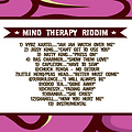 mind therapy riddim riddim jan 2013