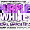 2014 PURPLE & WHITE AFFAIR 6.0 PROMO CD Mix By.(Brian Purple City HD)