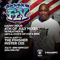 MISTER CEE HAPPY HOUR 4TH OF JULY MIXER SIRIUS XM FLY 7/4/17