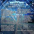 Ed Lynam Live @ Trance Sanctuary 7th Birthday @ Egg, London UK 10-03-2018