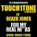 #MTMTDJsEXCLUSIVE - @TOUCH1TONY FT @BEADZ1ST - FOR MY REAL NIGGAS [PROD @TOUCH1TONY]