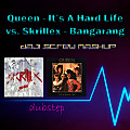 Queen vs. Skrillex - It's A Hard Life Bangarang (Daji Screw MashUp)