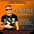 Six Tryple - Radio Interview on The Black and White Radio Show 9-27-16