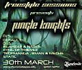 Freestyle Sessions Presents Jungle Knights v.08 - D.I.S. 30th march 2013