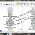 Dj Karme Gold Time Crew - Live Me Life Mix Cd_Vol.3