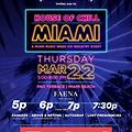 House Of Chill (Miami Music Week) 22/03/18