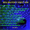 IBIZA HEAVENLY SUNSET 2010 - DJ GREG