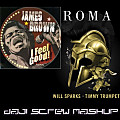 James Brown feat. Timmy Trumpet - I Feel Good vs. Roma (Daji Screw MashUp)
