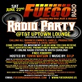 ♫ Fuego Radio Party Ad Jun 22 At Club TNT  ♫