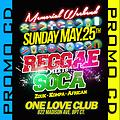 REGGAE meets SOCA May 25 Promo CD