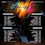 Sunrise Festival 2016 - Dzien I [Sety Parking] (22.07.2016)