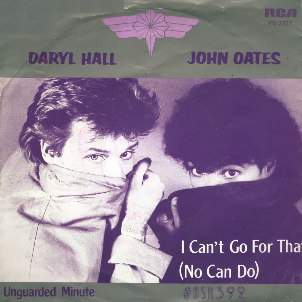 hall and oates i cant go for that mp3