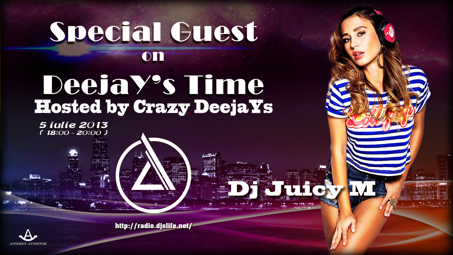 Crazy Deejays And Dj Juicy M Special Guest For Deejays Time